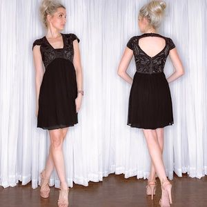 French Connection Black Cocktail Party Dress